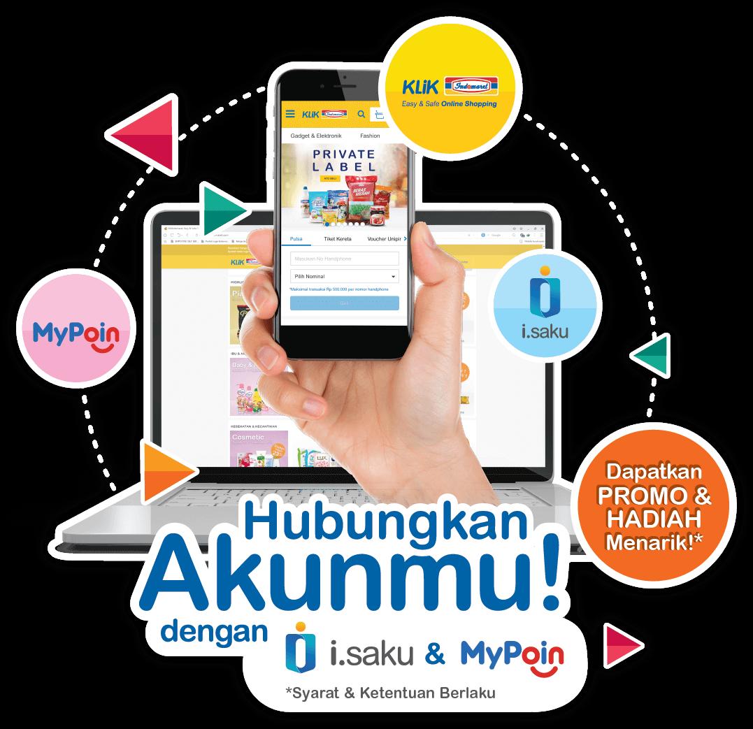 Klikindomaret Easy Safe Online Shopping Voucher Alfa Dan Indomaret Isaku Mypoin